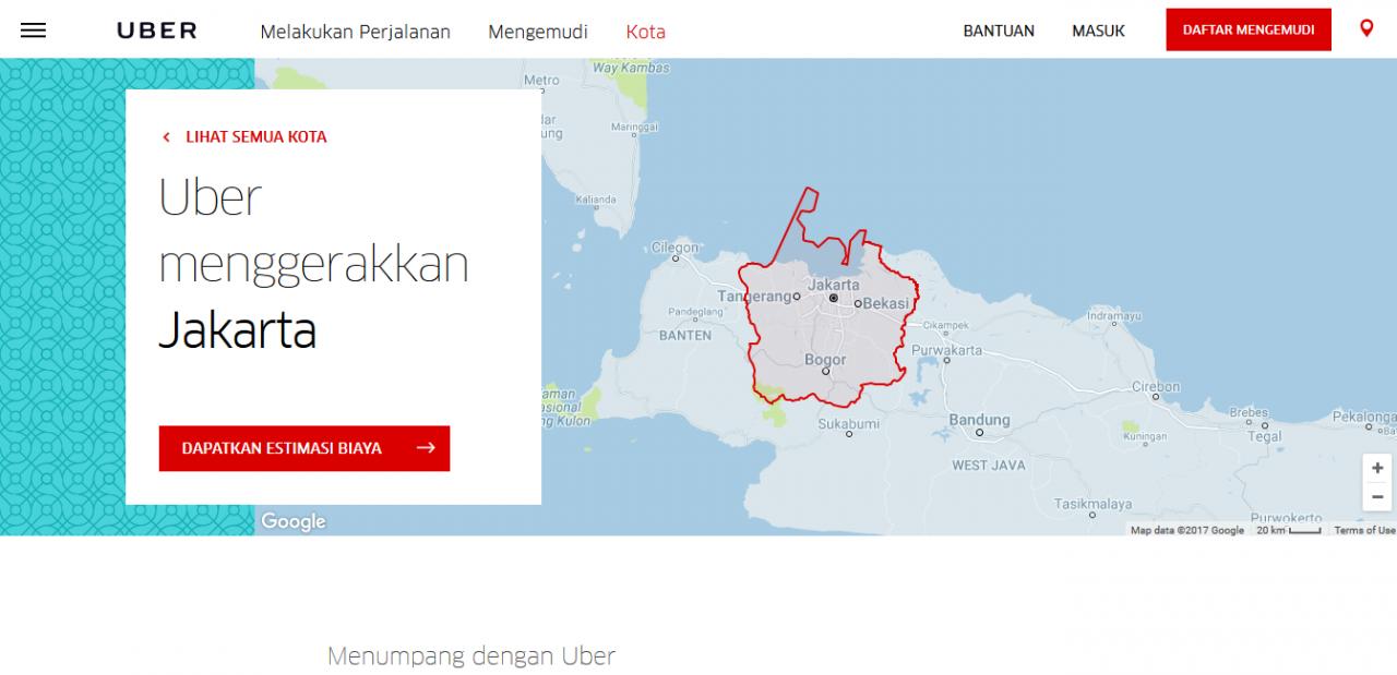 sejarah uber indonesia