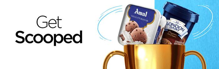 Scoop your favourite ice-cream!