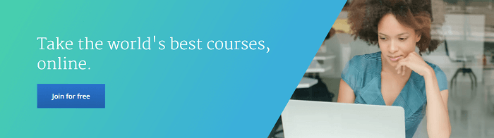 Explore the Coursera website