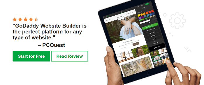 An easy to learn website builder