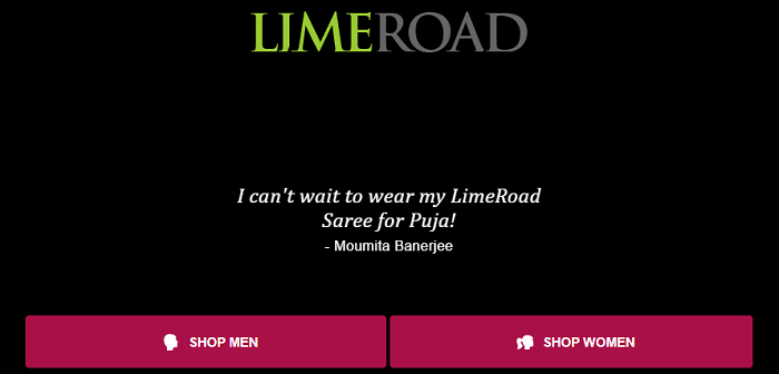 Come to Limeroad for cheaper shopping