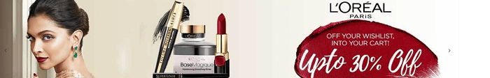 Makeup available at Nykaa