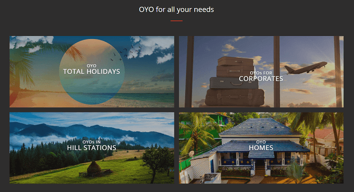 What do you need from OYO?