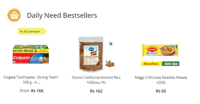 Daily deals for you