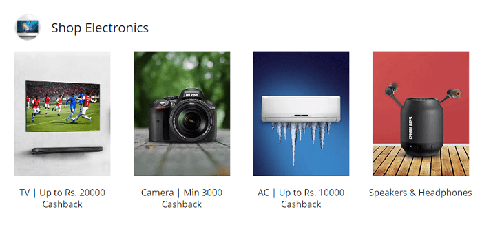 Comprehensive offer of electronics