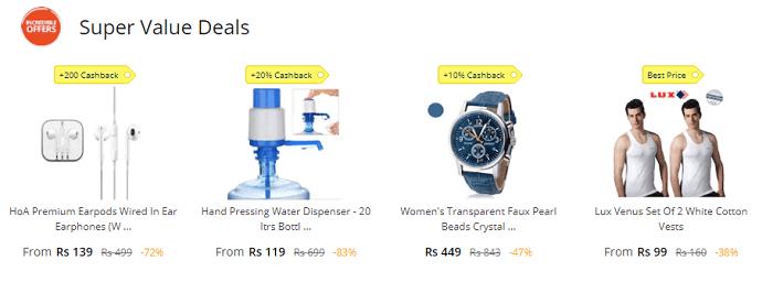 Great value deals