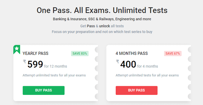 Buy yourself a pass