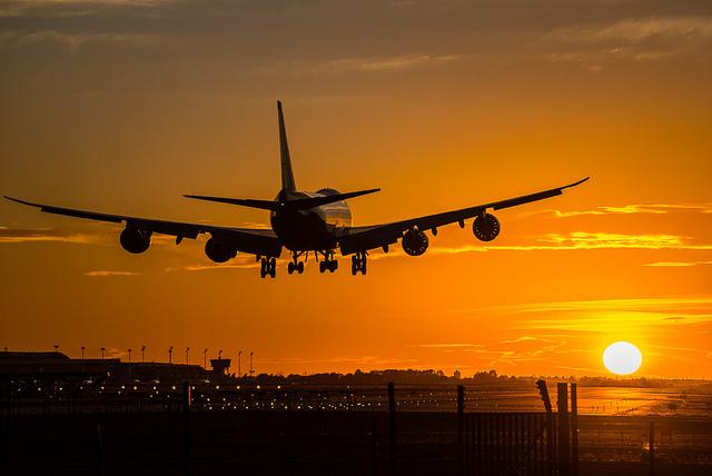 atterraggio a destinazione