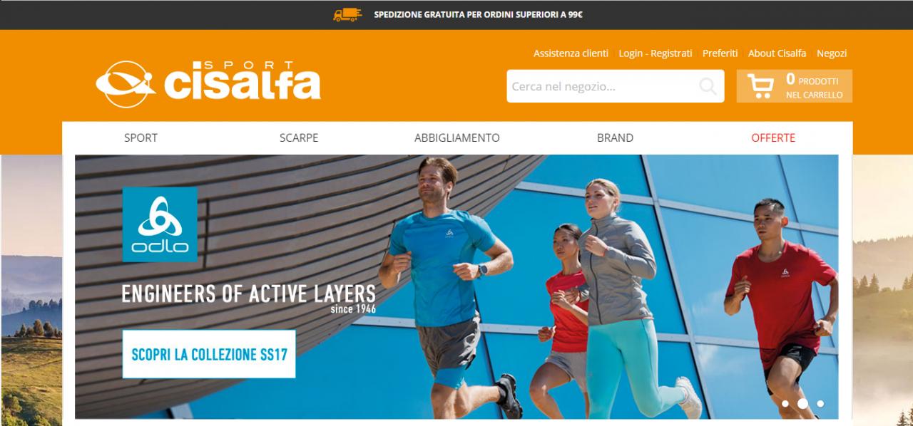 homepage cisalfa