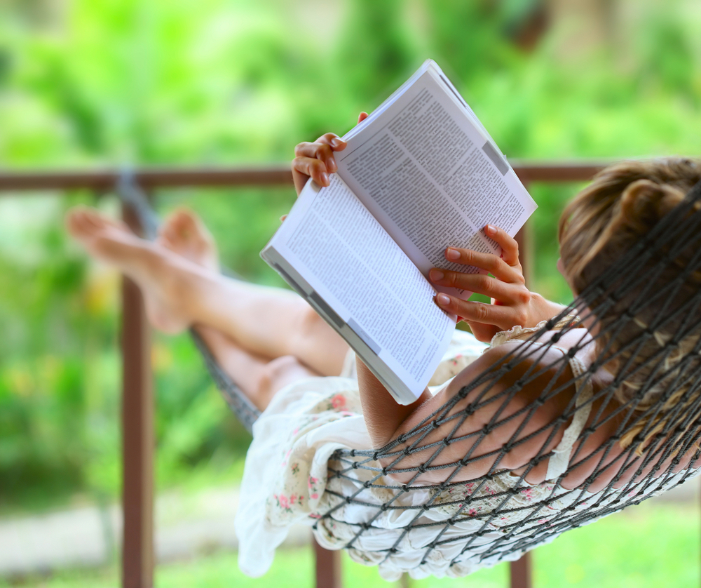 relax con libro