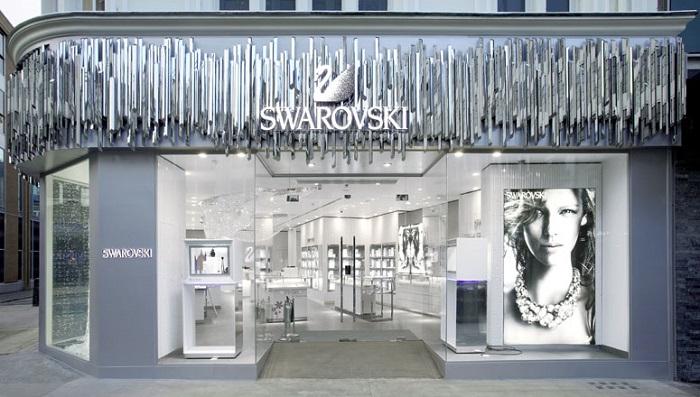 punto vendita swarovski