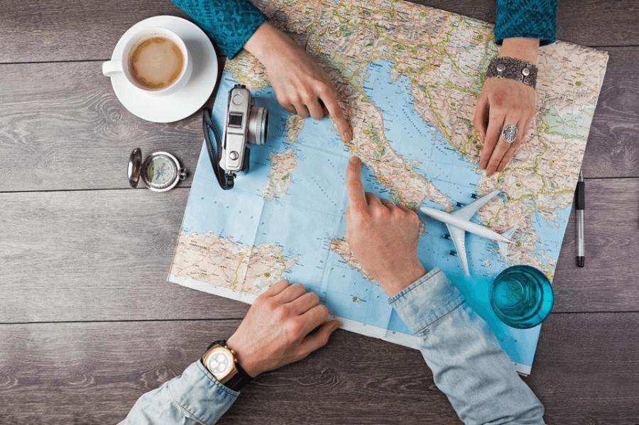 pianificazione viaggio