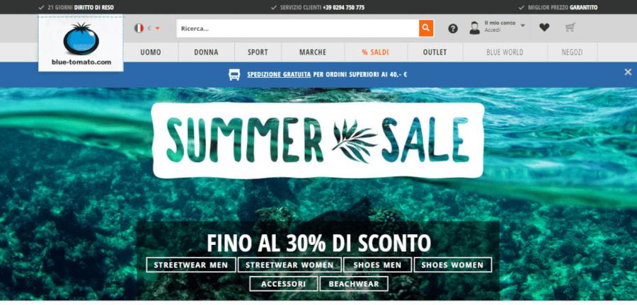 homepage bluetomato