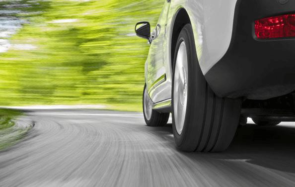 pneumatico su autovettura