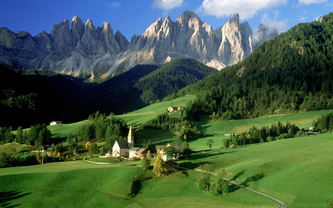 vacanza villaggio alpino