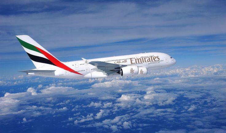 aereo emirates in volo
