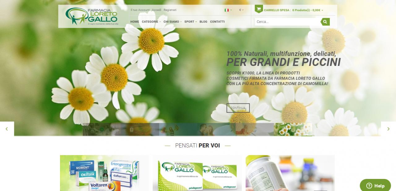 homepage farmacia