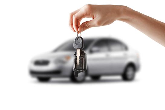 macchina e chiavi