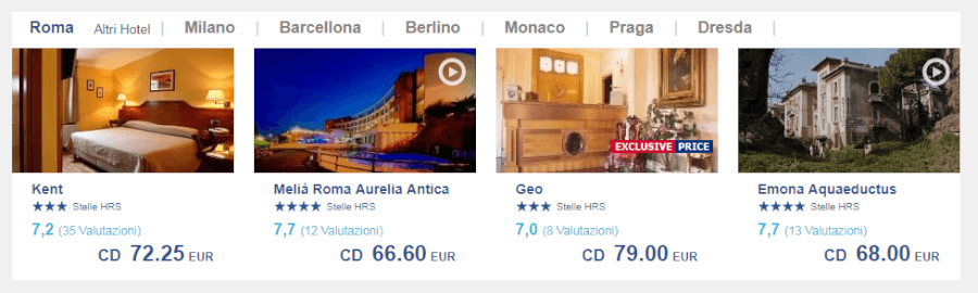 offerte alberghi hrs
