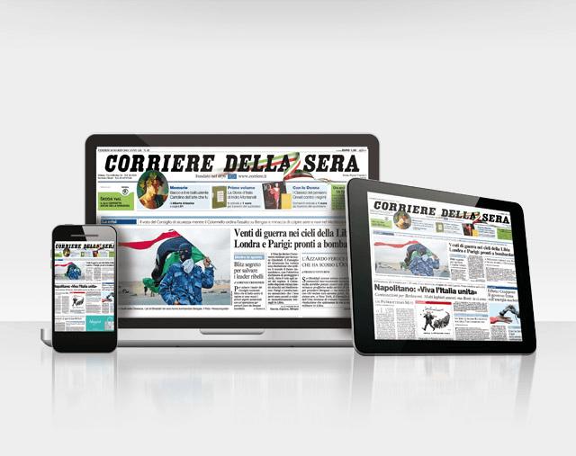 corriere edizione digitale