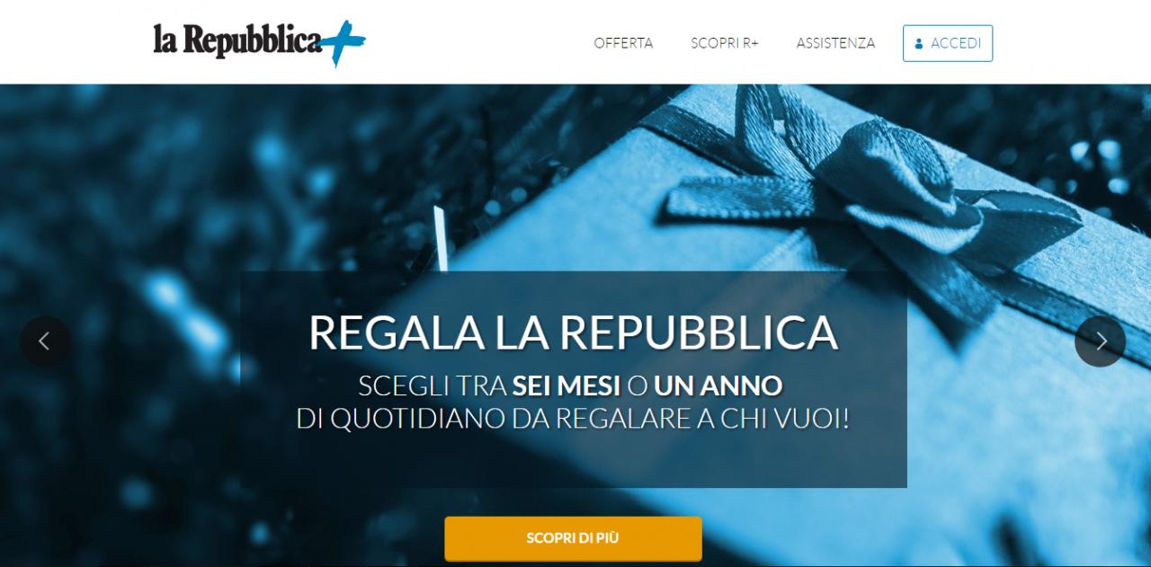 homepage repubblica