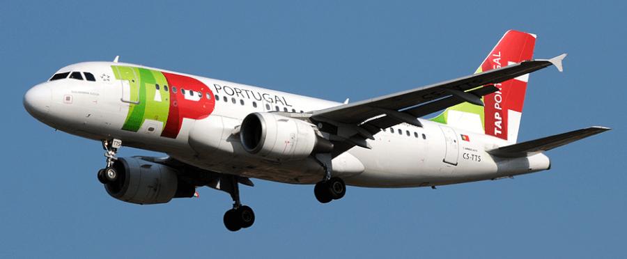 aereo tap in volo