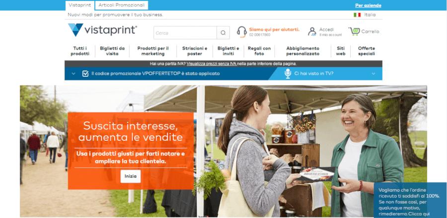 homepage vistaprint