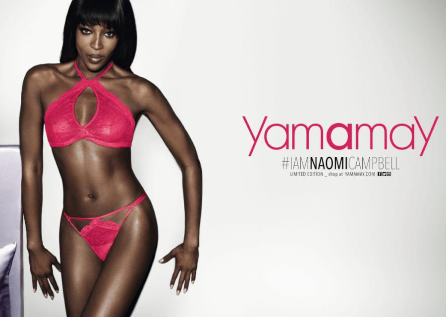 naomi campbell yamamay