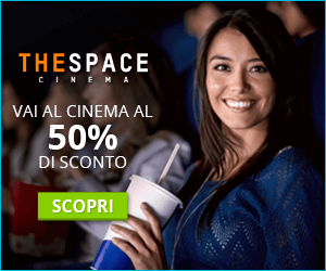 Biglietti cinema 50% di sconto