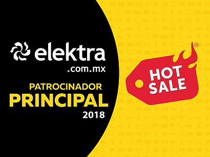 ¡Hot Sale 2018 en Elektra!