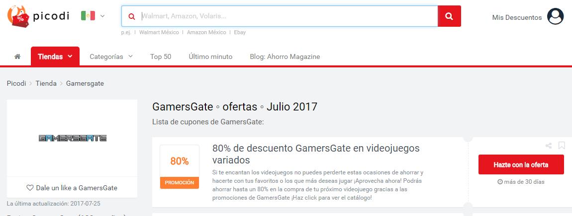 promociones gamersgate