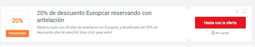 cupones europcar
