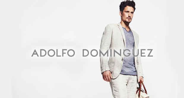 Estilo elegante con ropa Adolfo Dominguez