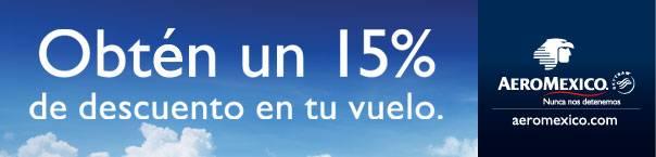 Utiliza nuestras códigos promocionales Aeromexico y ahorra en tu próxima compra con nuestros vales y ofertas Aeromexico