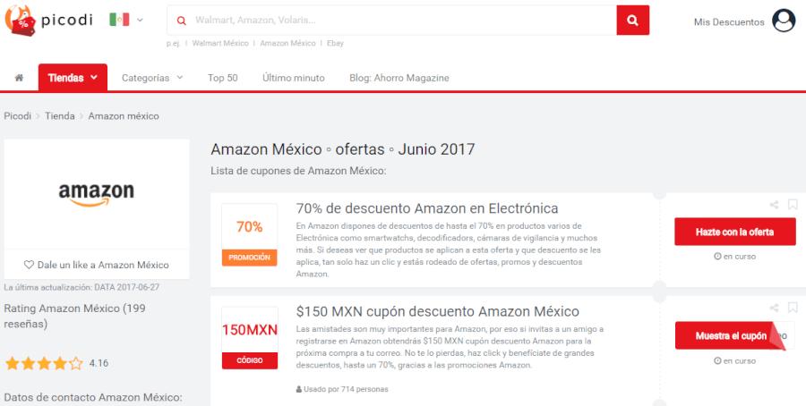 ofertas amazon mx