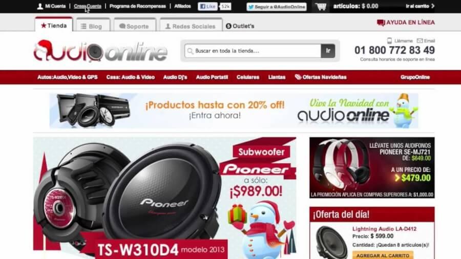 Audioonline home