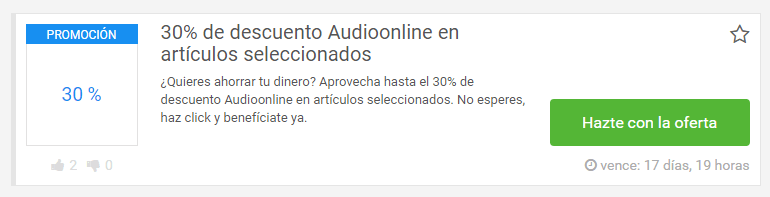 promociones Audioonline