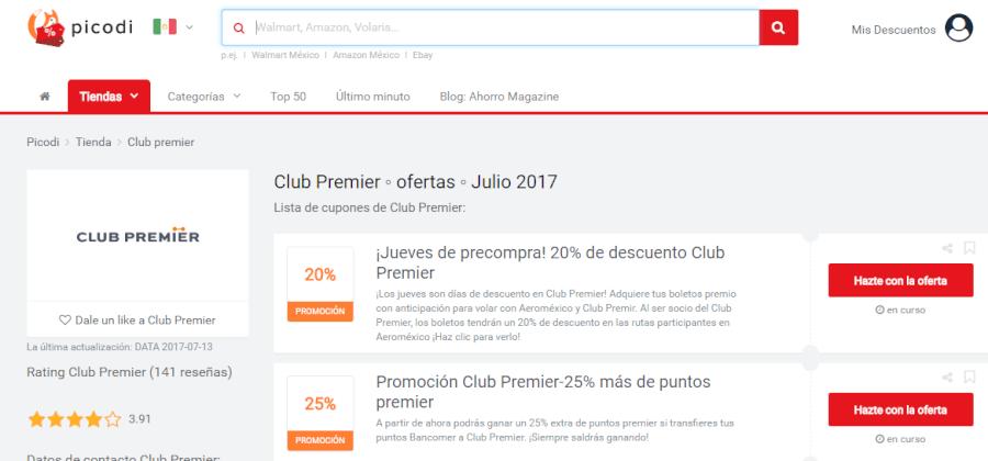 promociones clubpremier
