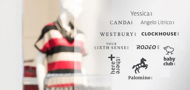 Marcas más populares en la tienda de ropa C and A