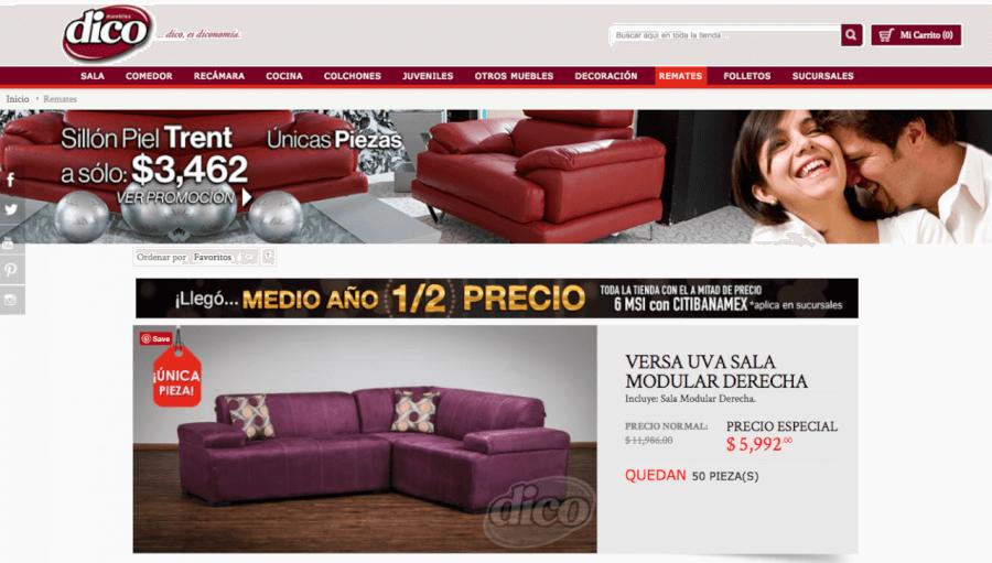 ofertas muebles dico