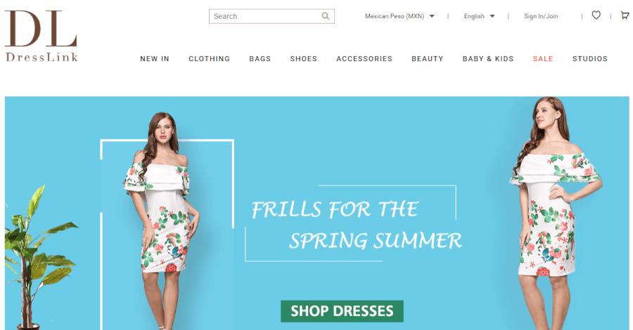 dresslink promociones