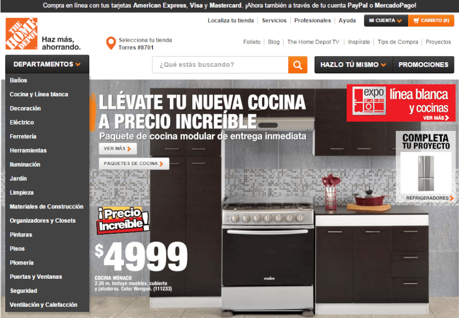 Tienda De Muebles Cordoba : Promociones home depot septiembre