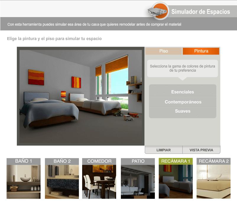 Promociones home depot 30 mayo 2018 benef ciate for Simulador habitaciones online