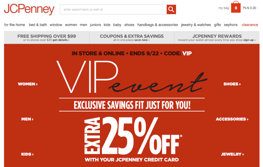 JCPenney online