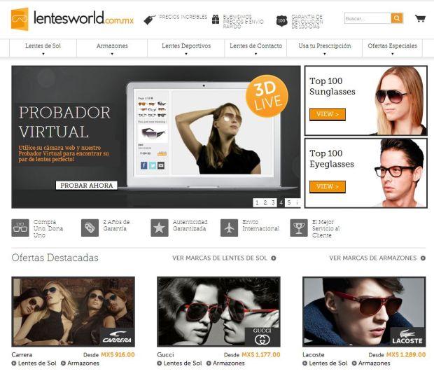 promociones en línea lentesworld