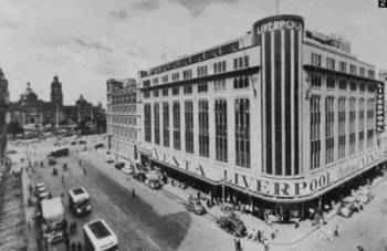 La primera tienda grande de Liverpool