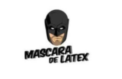 logo máscara de látex