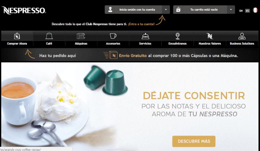 ofertas nespresso
