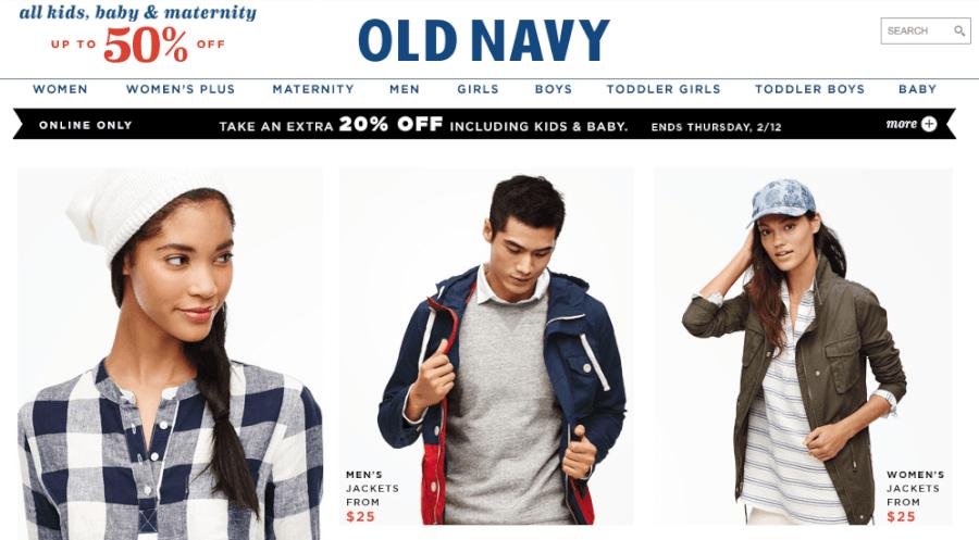 Promociones Old Navy 75 Junio 2021 Mira