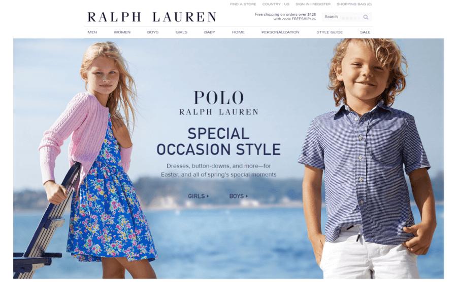 oferta y promociones ralph lauren